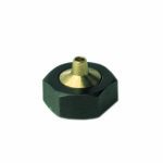 "Standard Extrusion Large Orifice Nozzle Available in .020"" - .101"" Orifice Sizes"